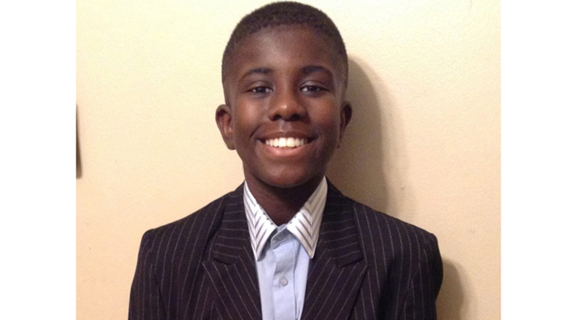 This photo released by the Detroit Police Department shows Charlie Bothuell V, 12, of Detroit.