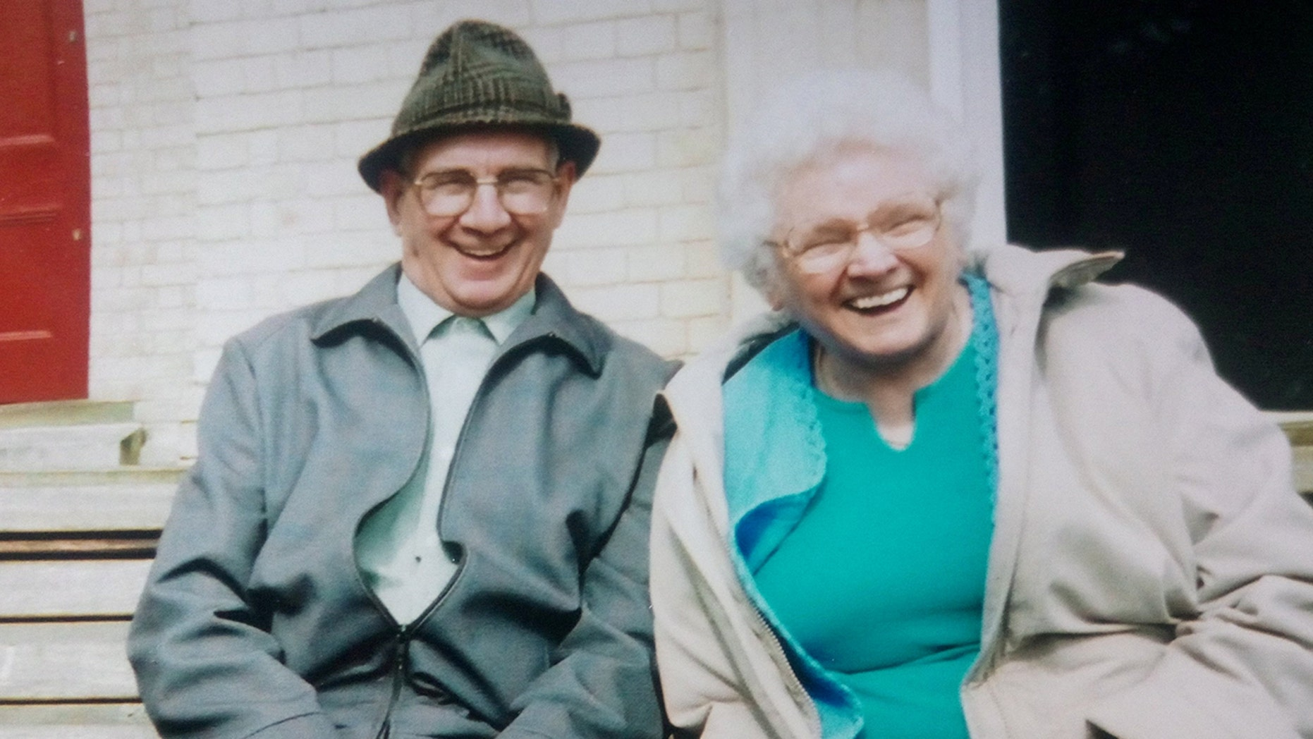 """Amy Hardy, 92, died 10 days after Arnold, as she sensed """"something was wrong"""" with him, her loved ones said."""