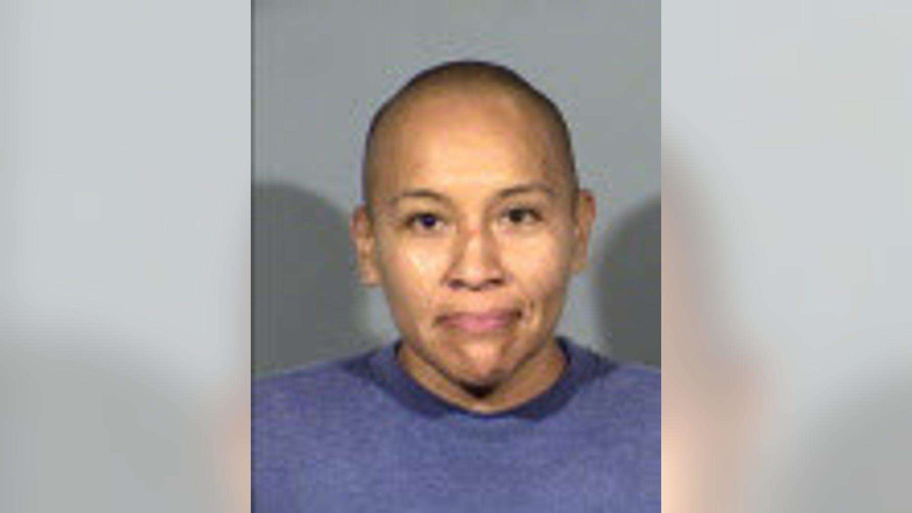 Christina Deswood, 37, was charged in connection with damage to vehicles in Las Vegas, authorities said.