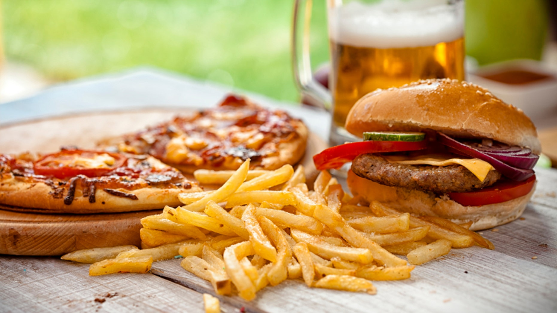 Vegetarians secretly eat meat after a night out drinking.