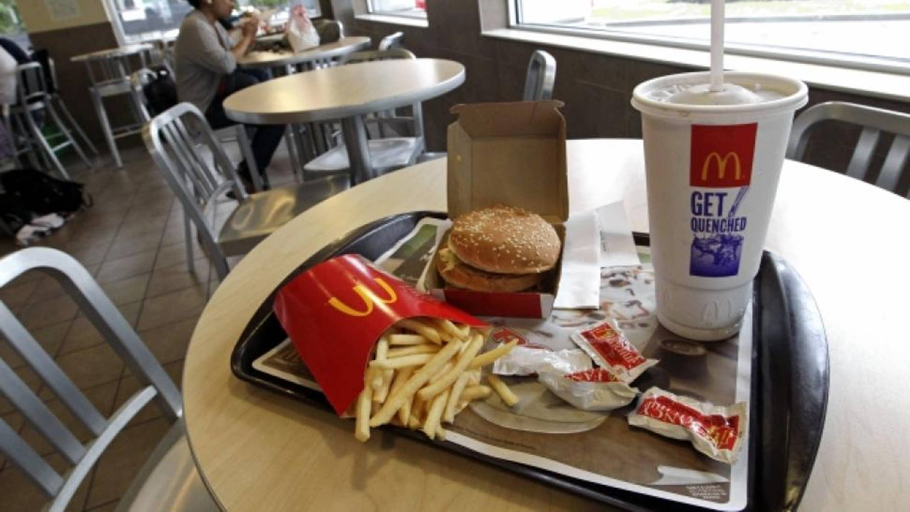 Not so great: McDonald's received the lowest score among national fast food chains.