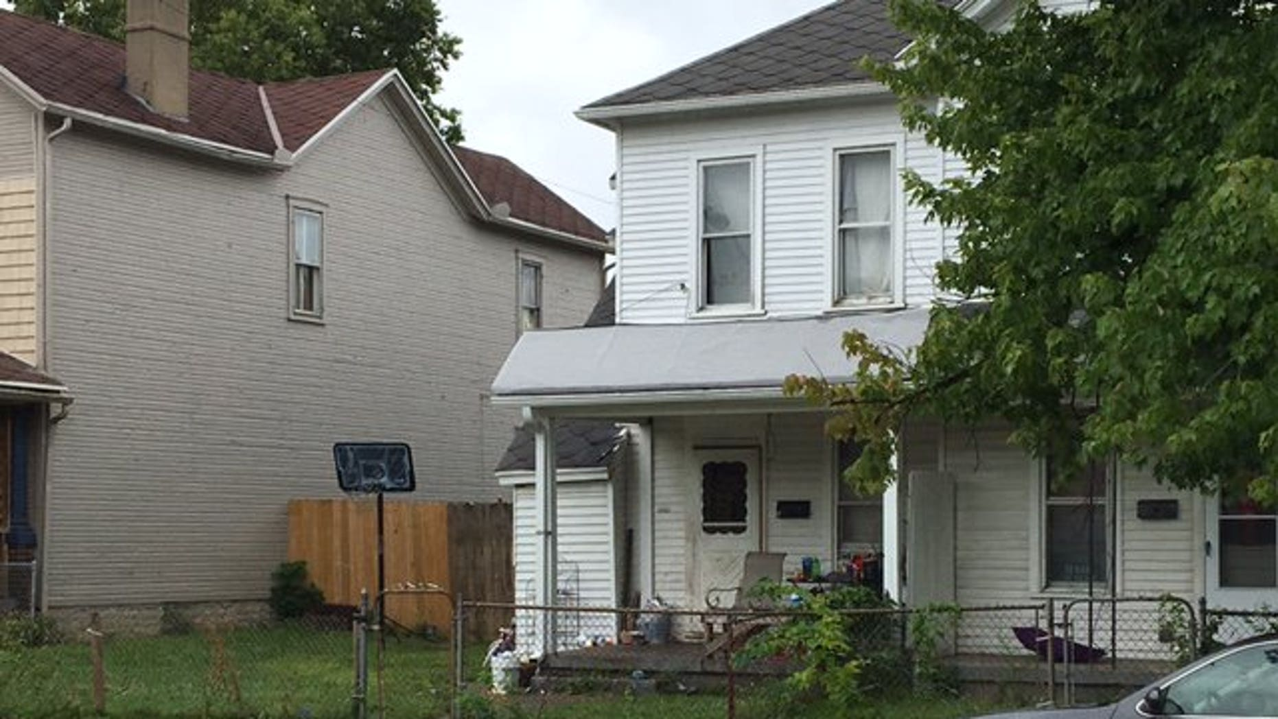 The Dayton home was described by police as 'deplorable.'
