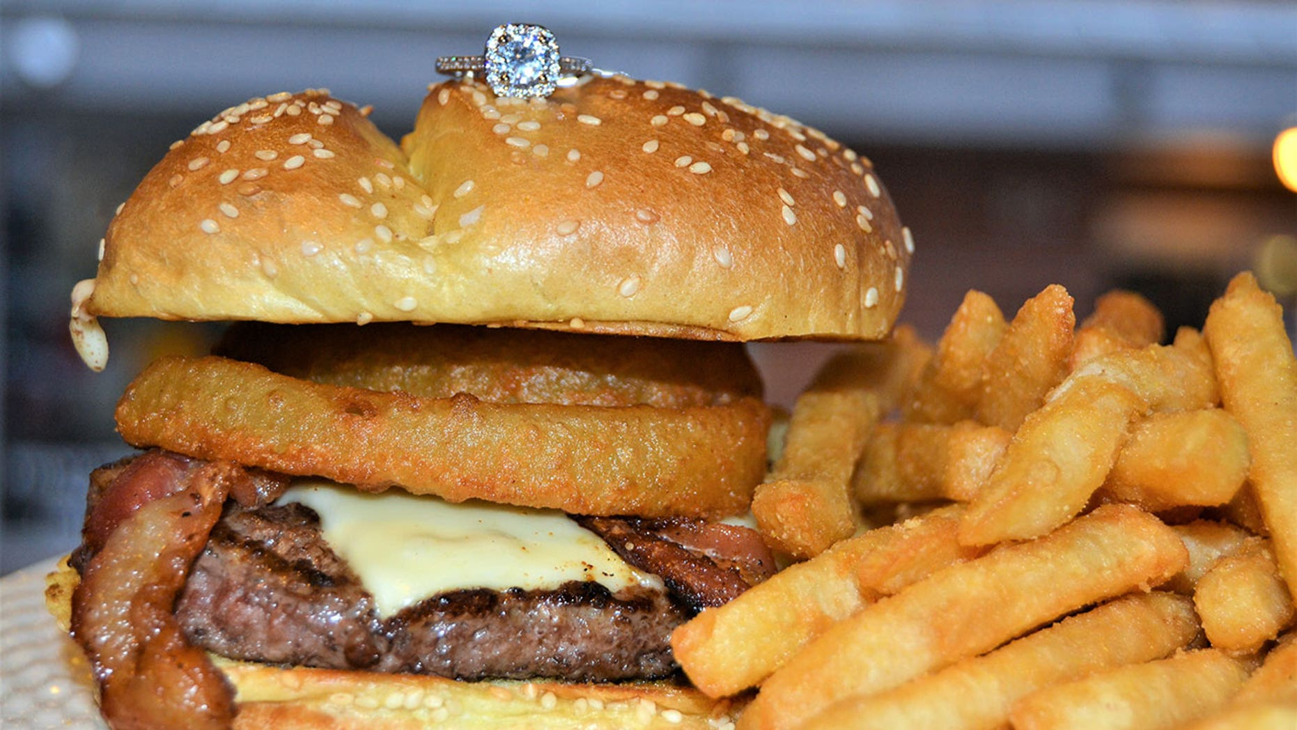 Pauli's in Boston's North End is offering a special deal for customers who want to propose over a burger.