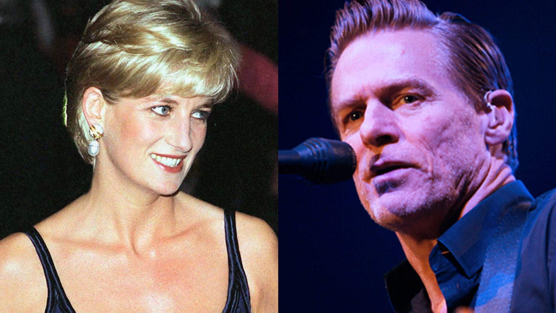 Singer Bryan Adams talks about the dating rumors between he and the late Princess Diana on Andy Cohen's Bravo talk show.