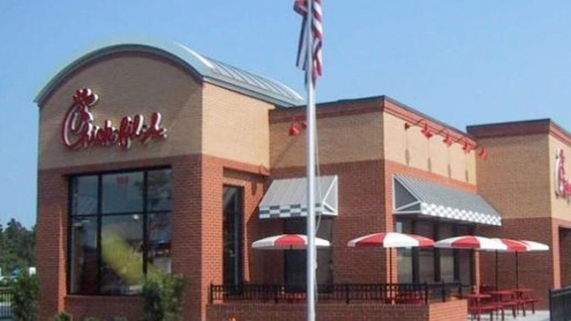 Chick-fil-A's bag suggests that eating more of its grilled chicken nuggets can help shed pounds.