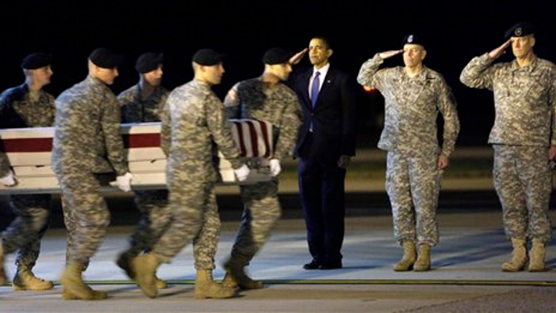 Obama Fallen Soldiers