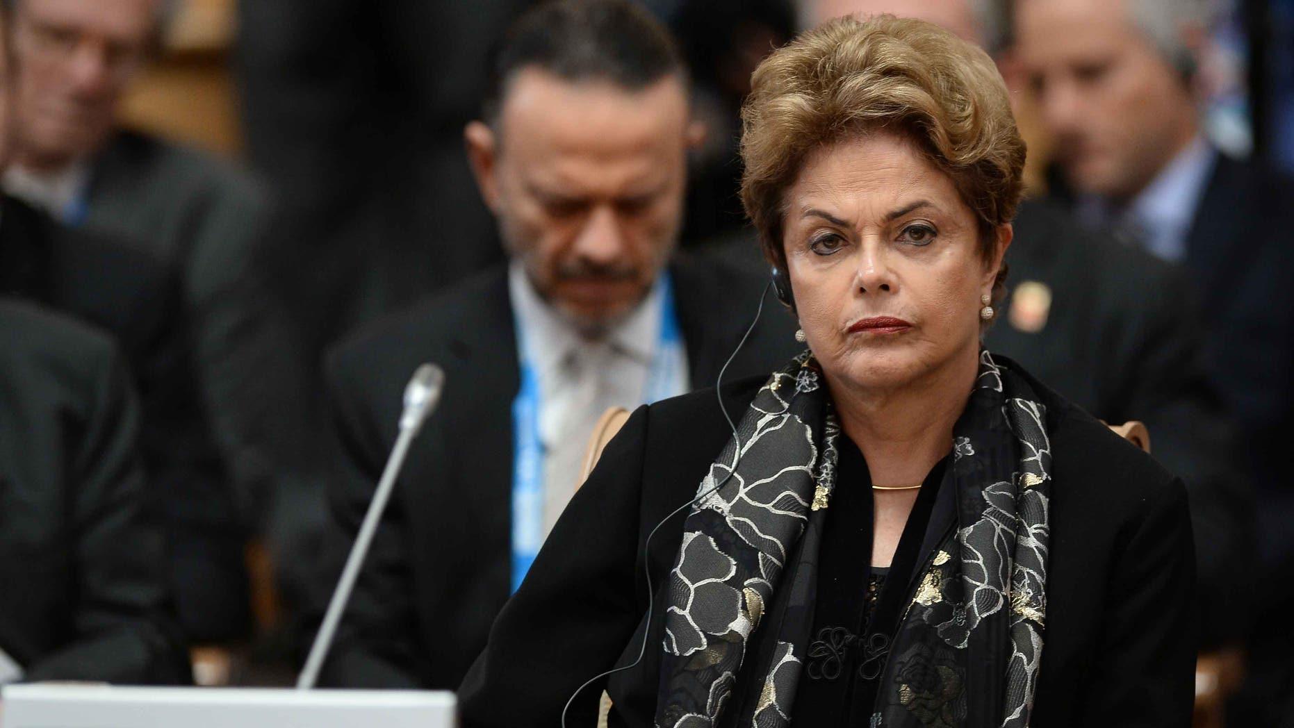 Brazil President Dilma Rousseff on July 09, 2015 in Ufa, Russia.