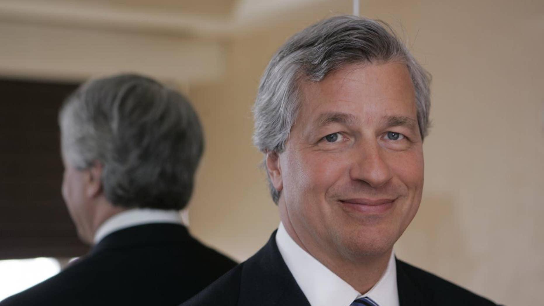 JP Morgan Chase CEO Jamie Dimon (AP Photo/File)