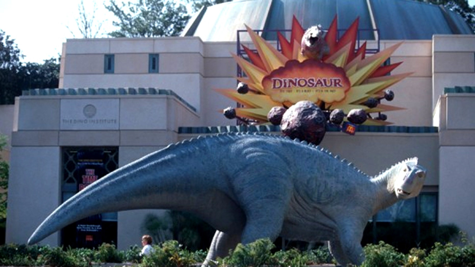 A Walt Disney World visitor with her grandson found a loaded gun on her seat on the Dinosaur ride at Animal Kingdom.