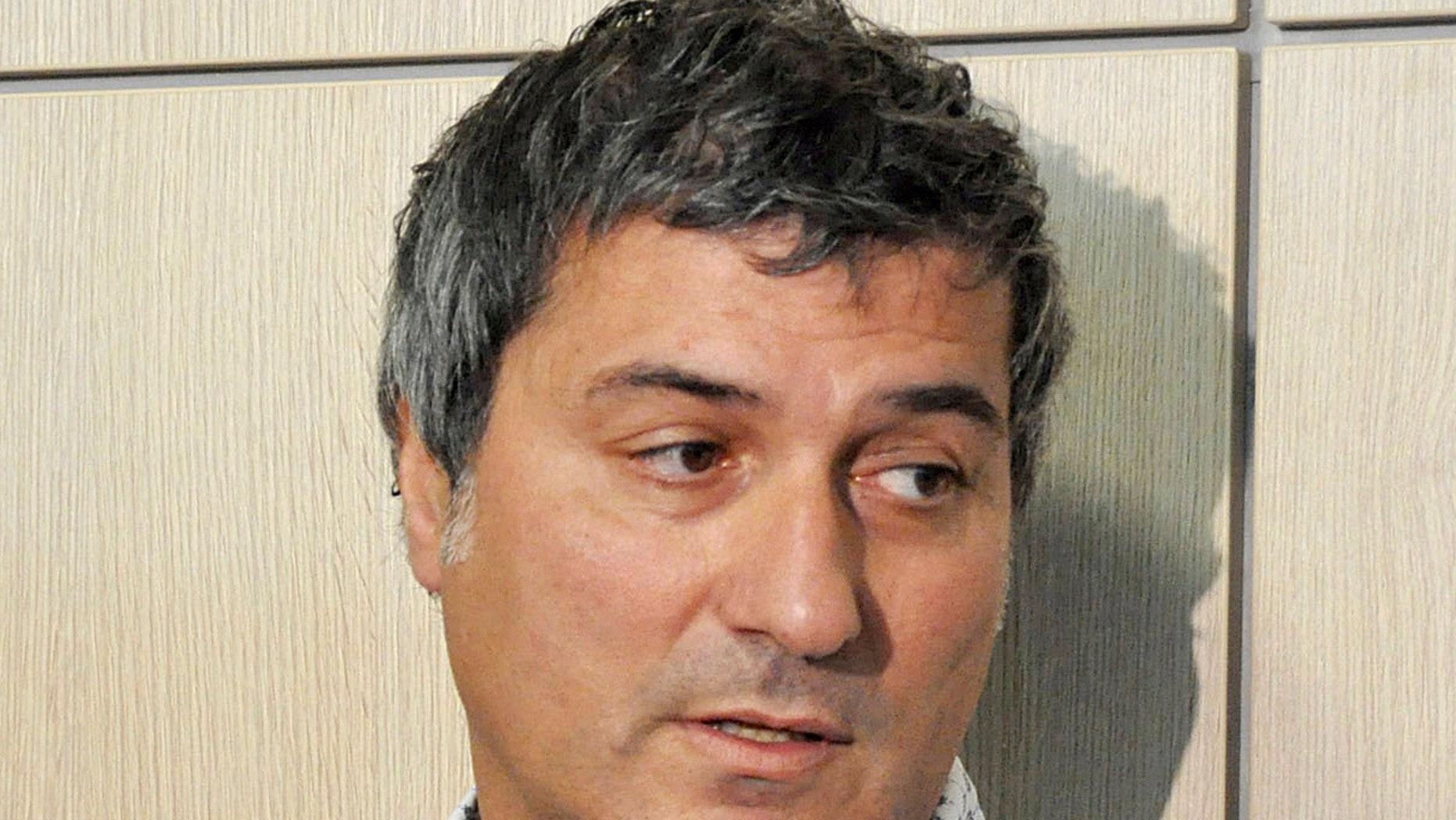 In this Friday, July 30, 2010 file photo, Dr. Paolo Macchiarini talks to journalists during a press conference, in Florence, Italy.