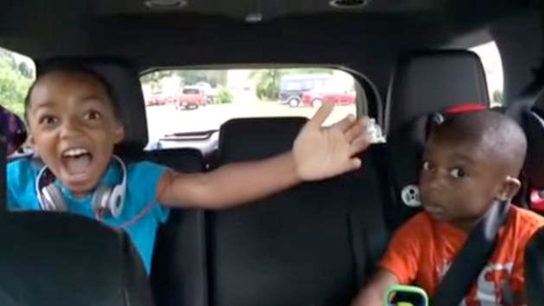 A mom and dad decided to surprise their young kids with a trip to  Disney World --but got a reaction they were expecting.