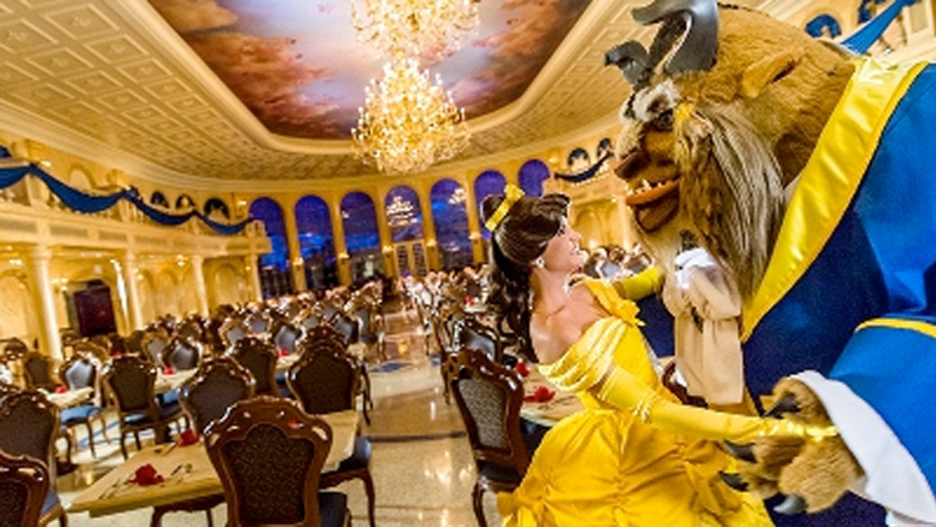 Visitors can pay to get a time slot for the coveted Be Our Guest restaurant.