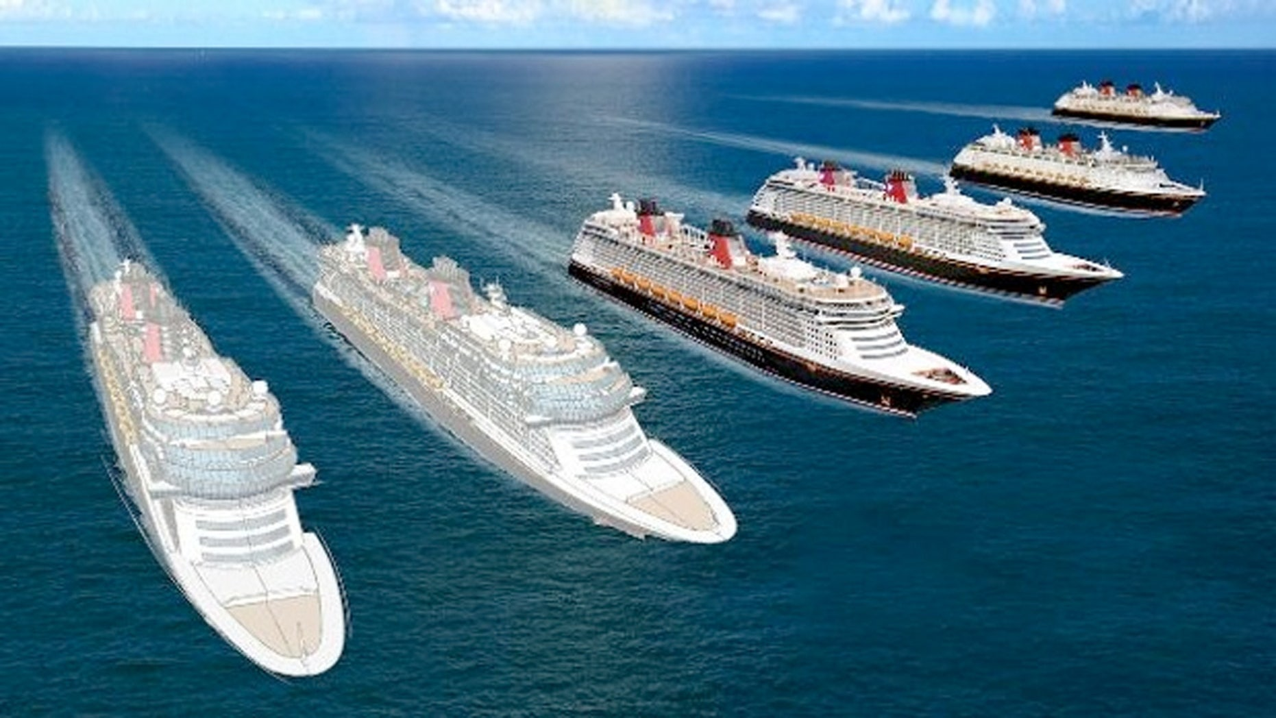 The two new Disney ships will be slightly larger than the newest Disney Cruise Line ships, the Disney Dream and the Disney Fantasy - and each is planned to include about 1,250 guest staterooms.