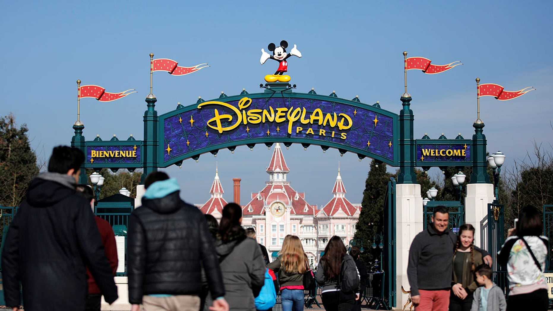 "A chef at Disneyland Paris sent a ""massive fireball"" across the dinner table, claims a guest."