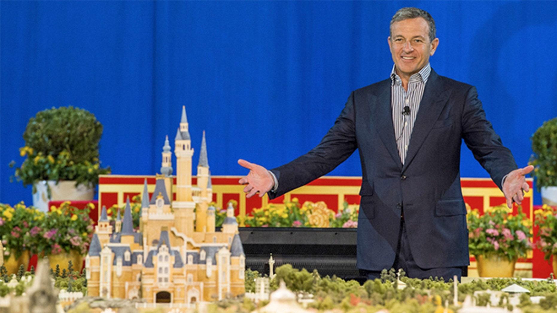 Disney's Robert Iger unveils Shanghai Disneyland.
