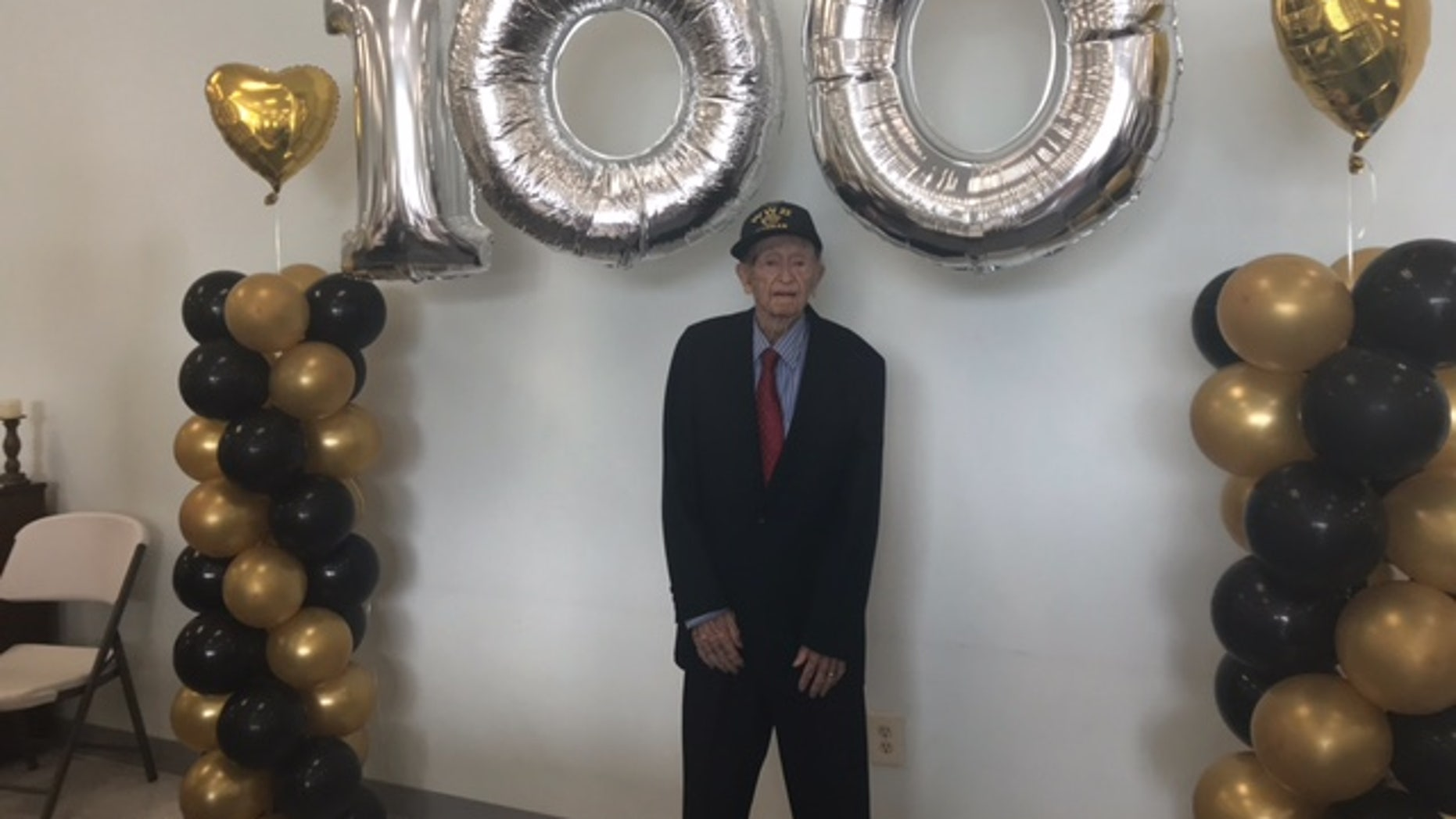 Philip Dixon turned 100 on May 6. He was an air gunner during WWII.