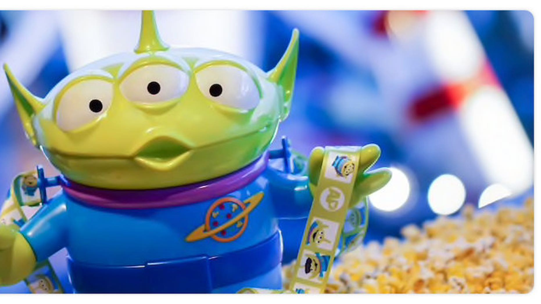 Disneyland has released a Pixar-themed popcorn bucket for a limited time.