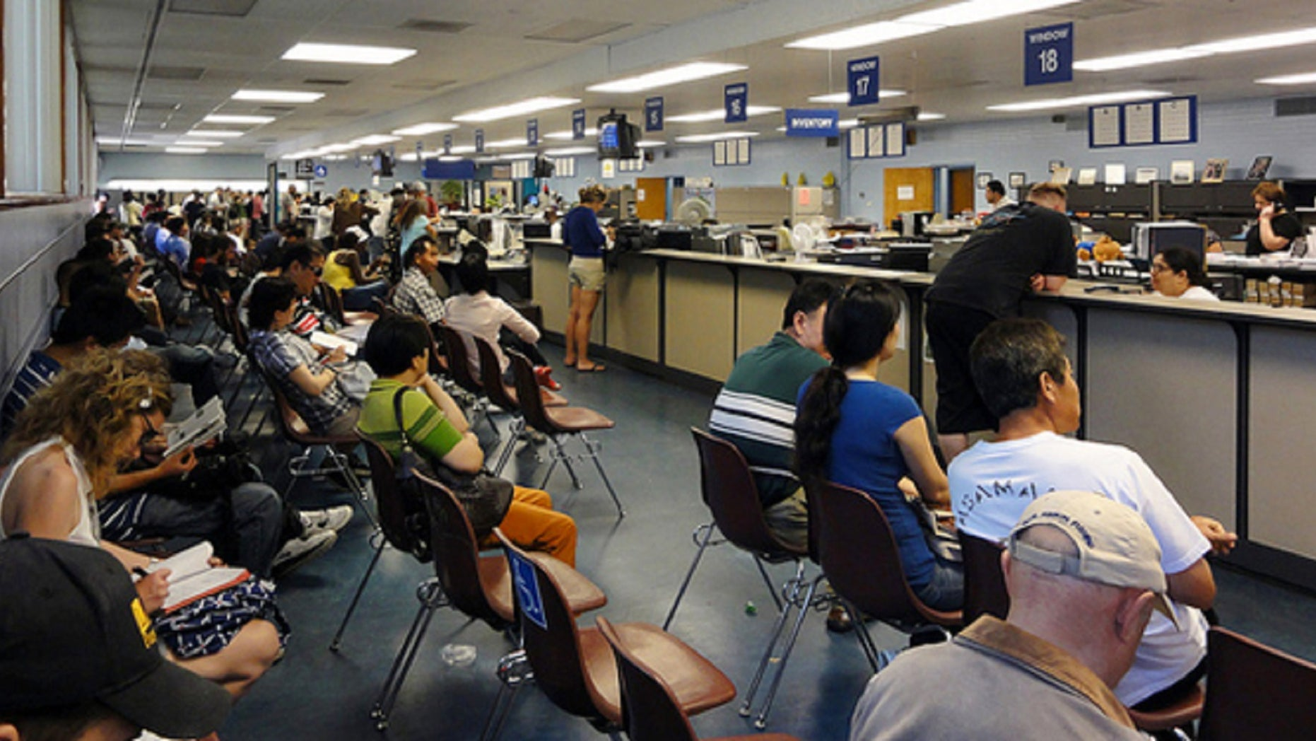 California DMV worker snoozed on job 3 hours a day for about