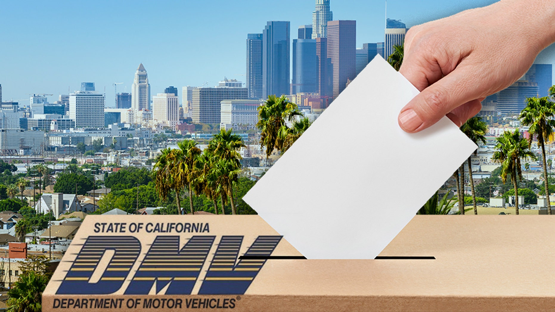 The California DMV reportedly submitted more than 20,000 voter registrations to the Secretary of State's office.