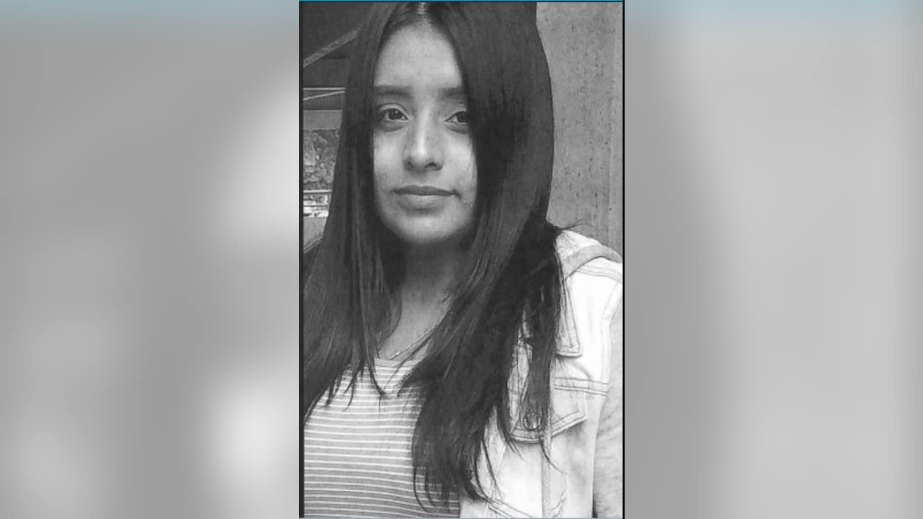 Sinahi Aguilar-Cruz, 16, was last seen at her home at 11:30 p.m. Saturday, police said.