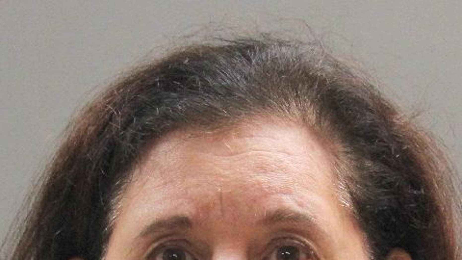Faye Doomchin, 66, is accused of stabbing a British tourist to death in her Long Island home.