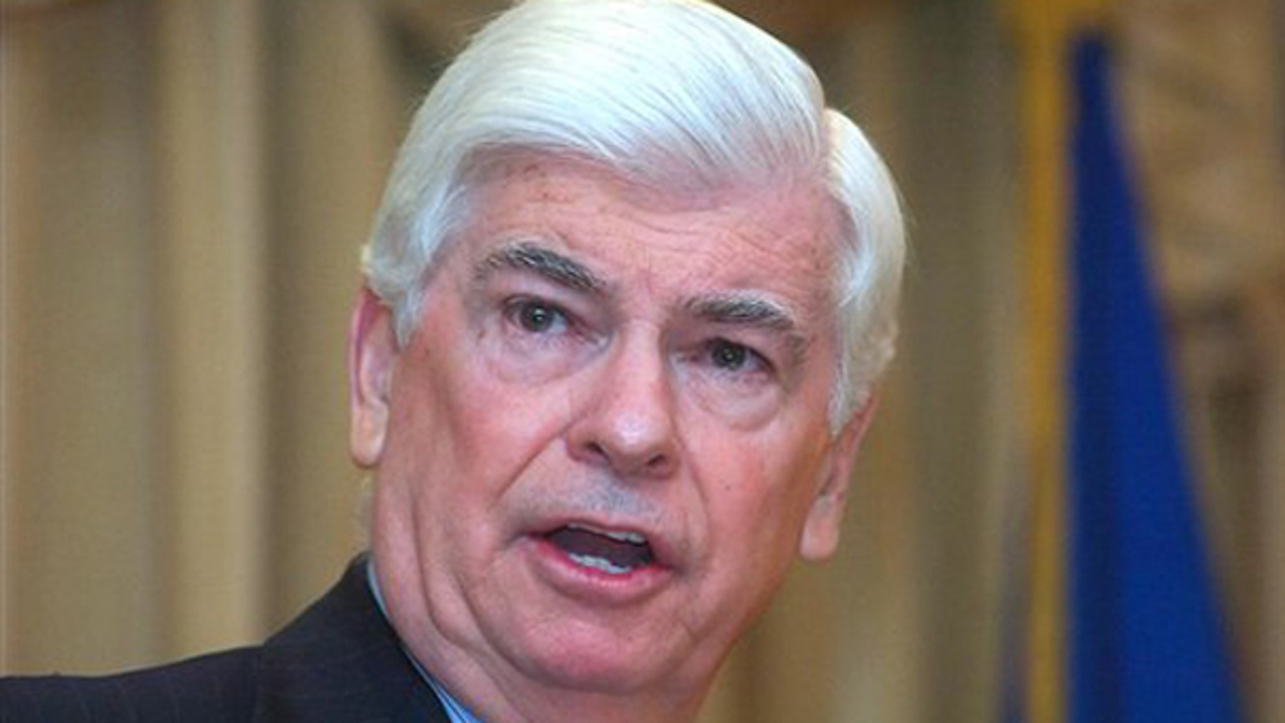 Sen. Chris Dodd speaks to The Norwalk Chamber of Commerce Jan. 5. (AP Photo)