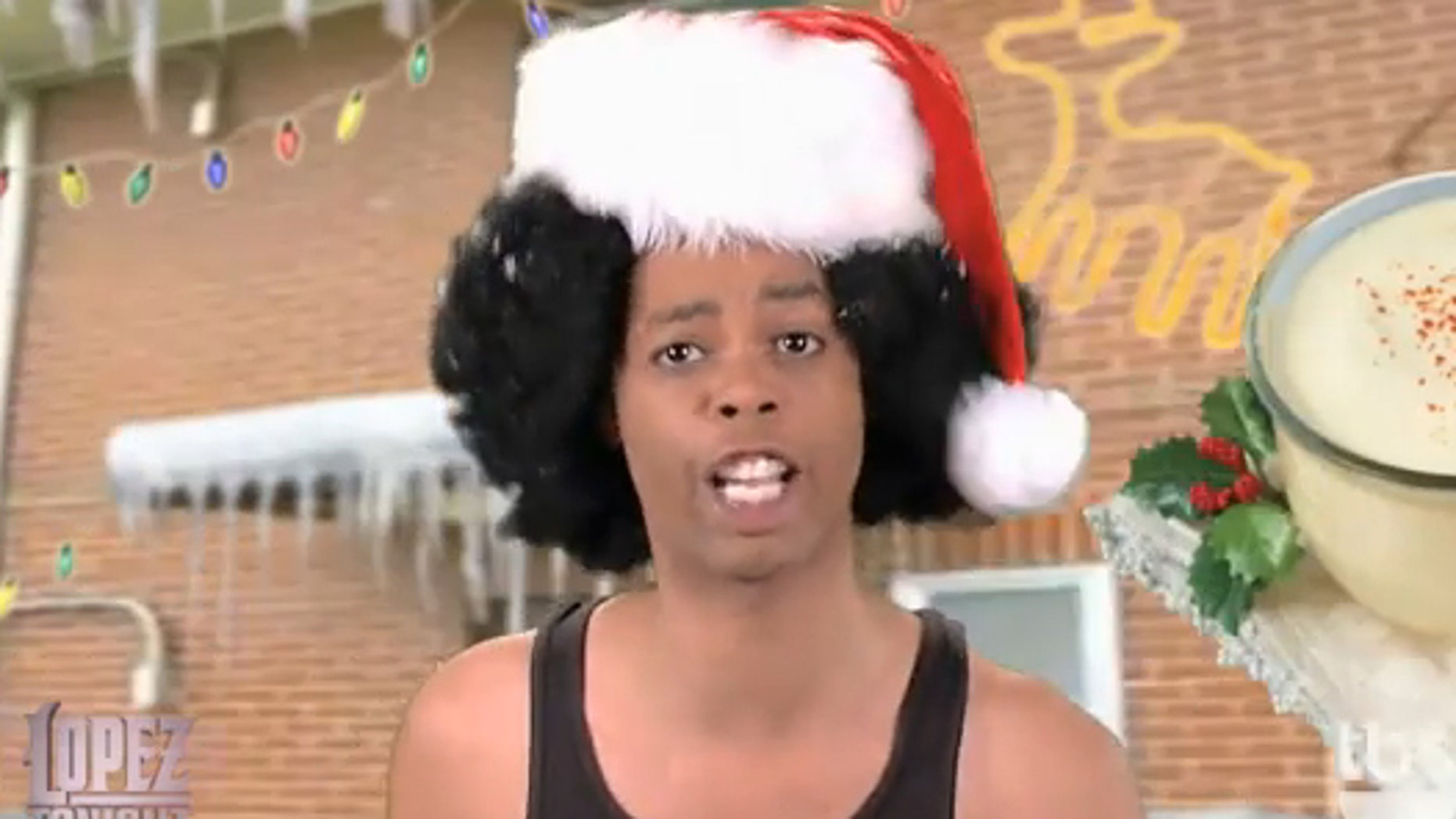 Antoine Dodson in 'Hide Your Gifts.' (Lopez Tonight)