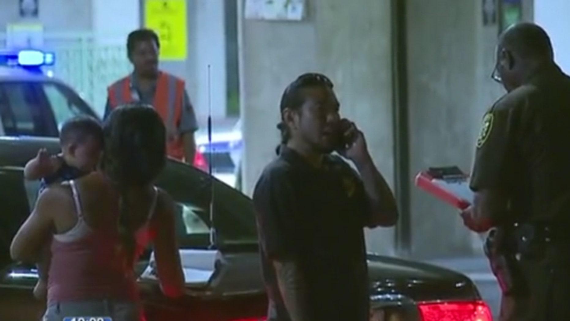 A deputy interviewed Leisha Ramos and her boyfriend Jadd Matsuda after the killing of Ramos' dog at Honolulu airport Tuesday.