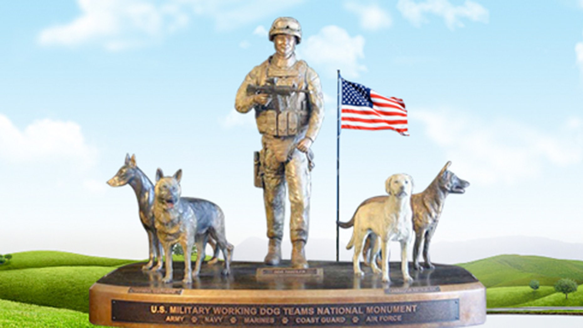 The Military Working Dog Teams National Monument