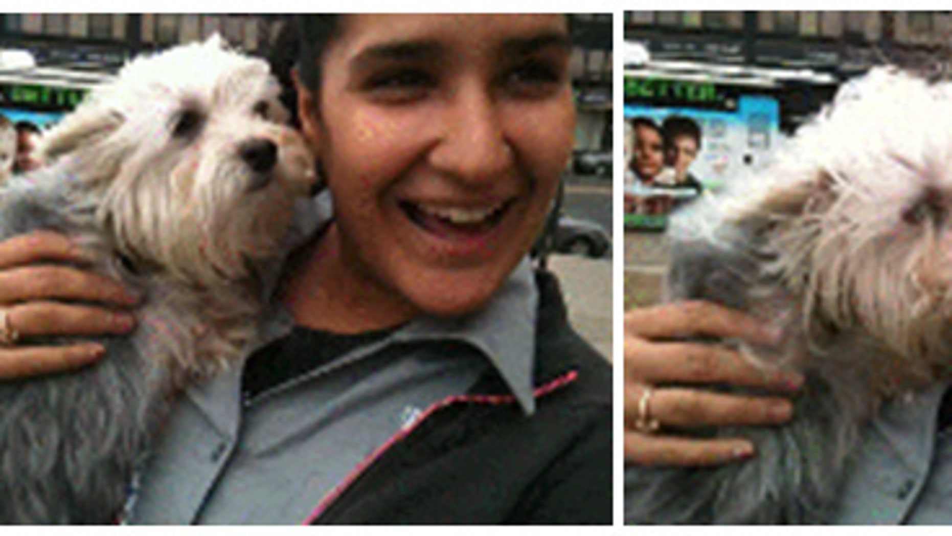 Image of New York woman who stole dog.