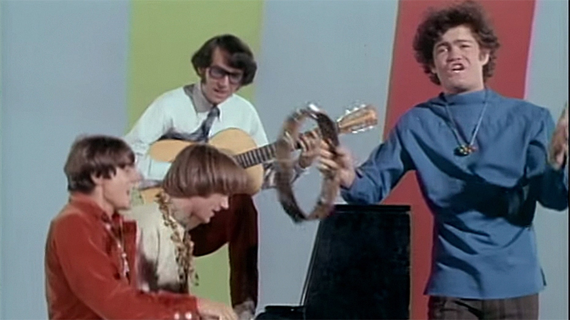 Micky Dolenz (right) of The Monkees.