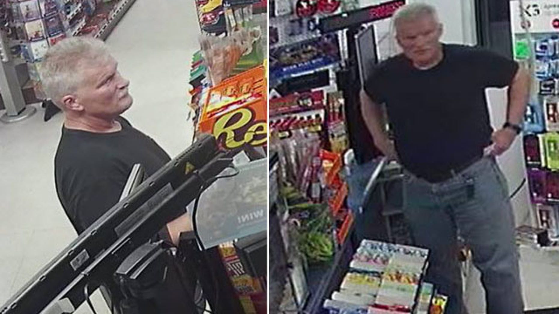 This undated image shows a serial robber who has stolen from at least seven Dollar Tree stores