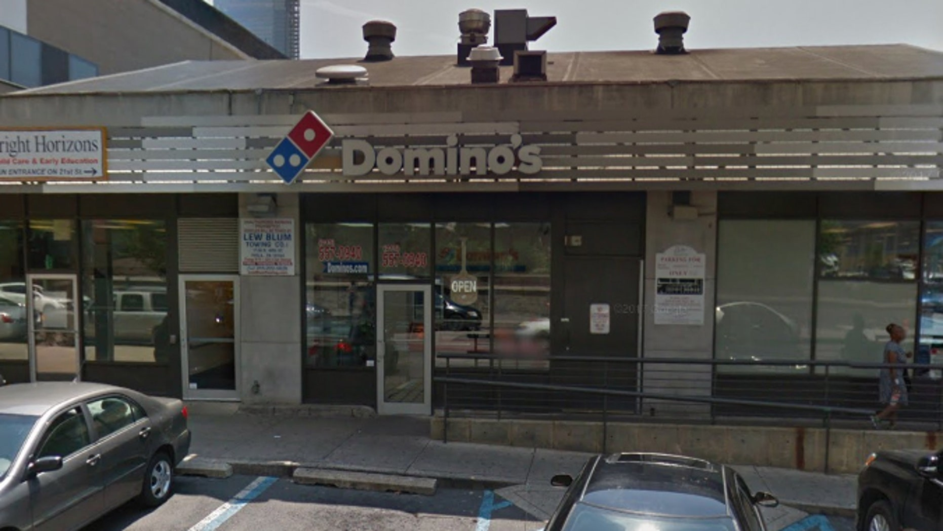 "Domino's has said a health inspector found ""nothing of concern"" on an initial visit to the restaurant, which had since closed for a ""long-scheduled reimaging."""
