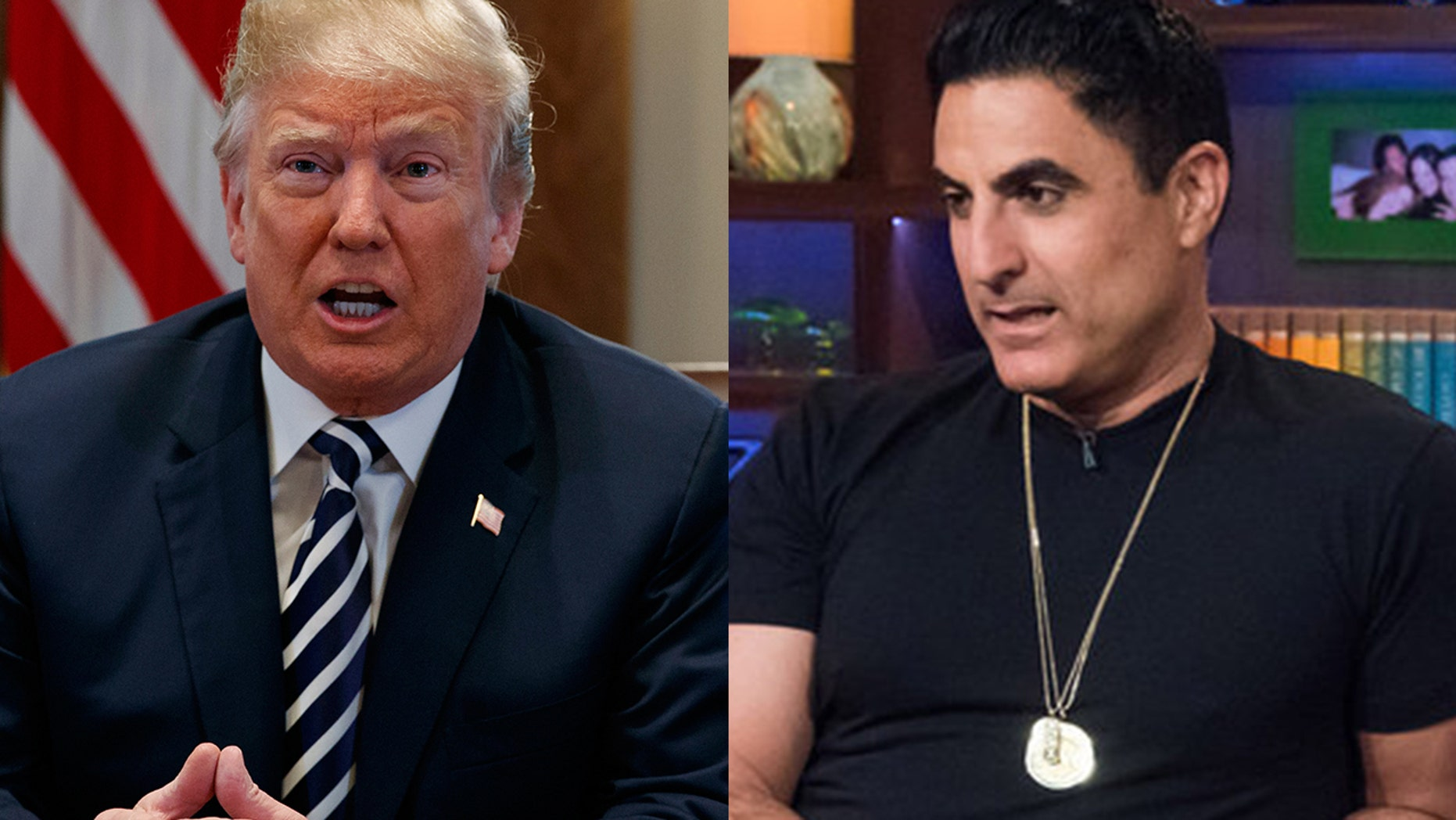 """""""Shahs of Sunset"""" star Reza Farahan said he supports President Trump's decision to pull out from the Iran nuclear deal."""