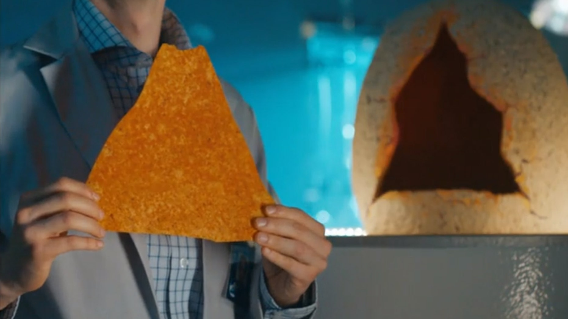 """Doritois just launched the """"world's largest"""" foot-long chips, available for a limited time."""