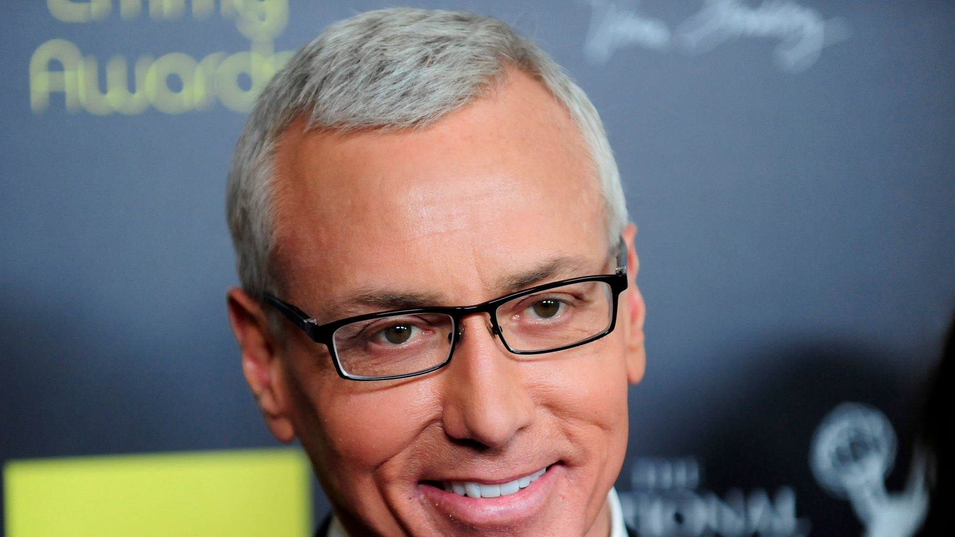 June 23, 2012. Dr Drew Pinsky arrives at the 39th Daytime Emmy Awards in Beverly Hills, California.