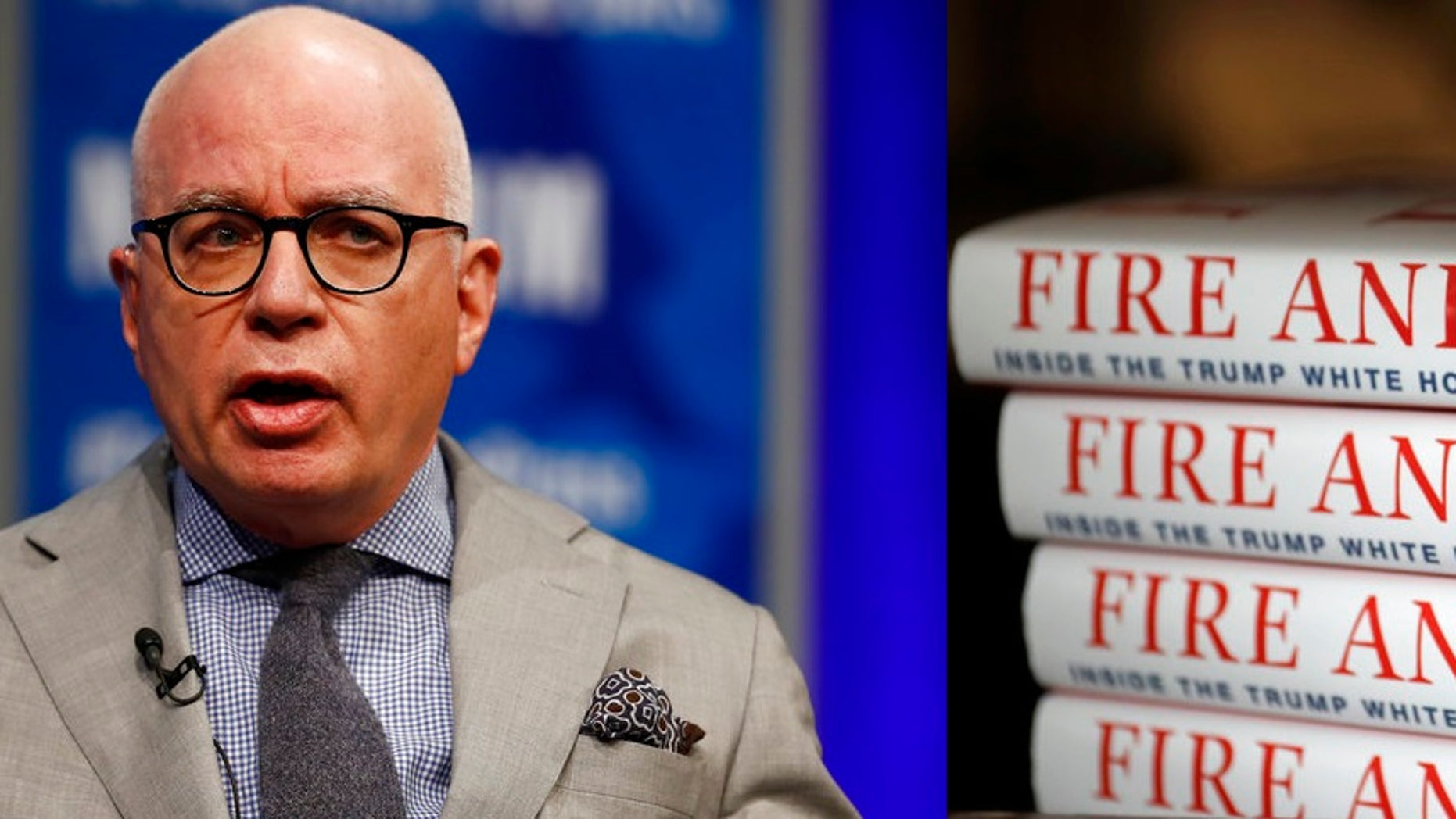 "Author Michael Wolff says he stands by the content of his White House book, ""Fire and Fury."""