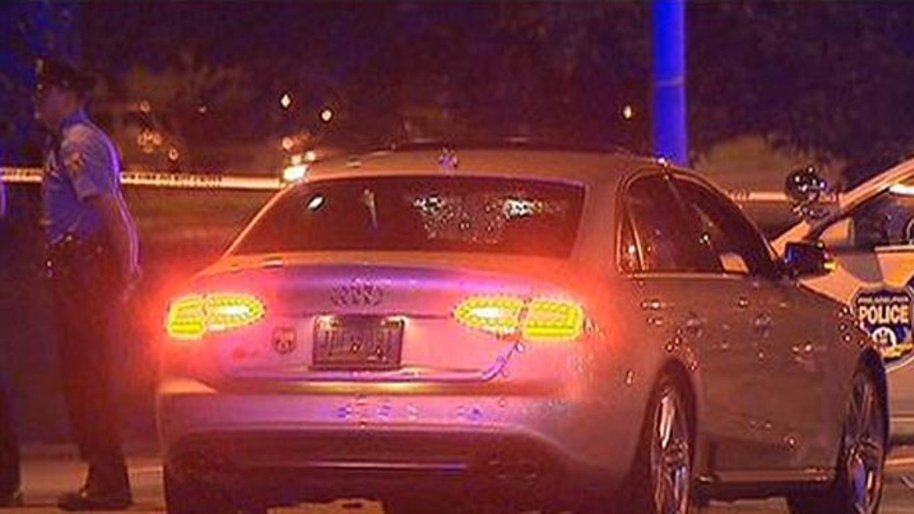 Philadelphia police are investigating if the car that struck a mom and her four sons was taking part in a drag race.