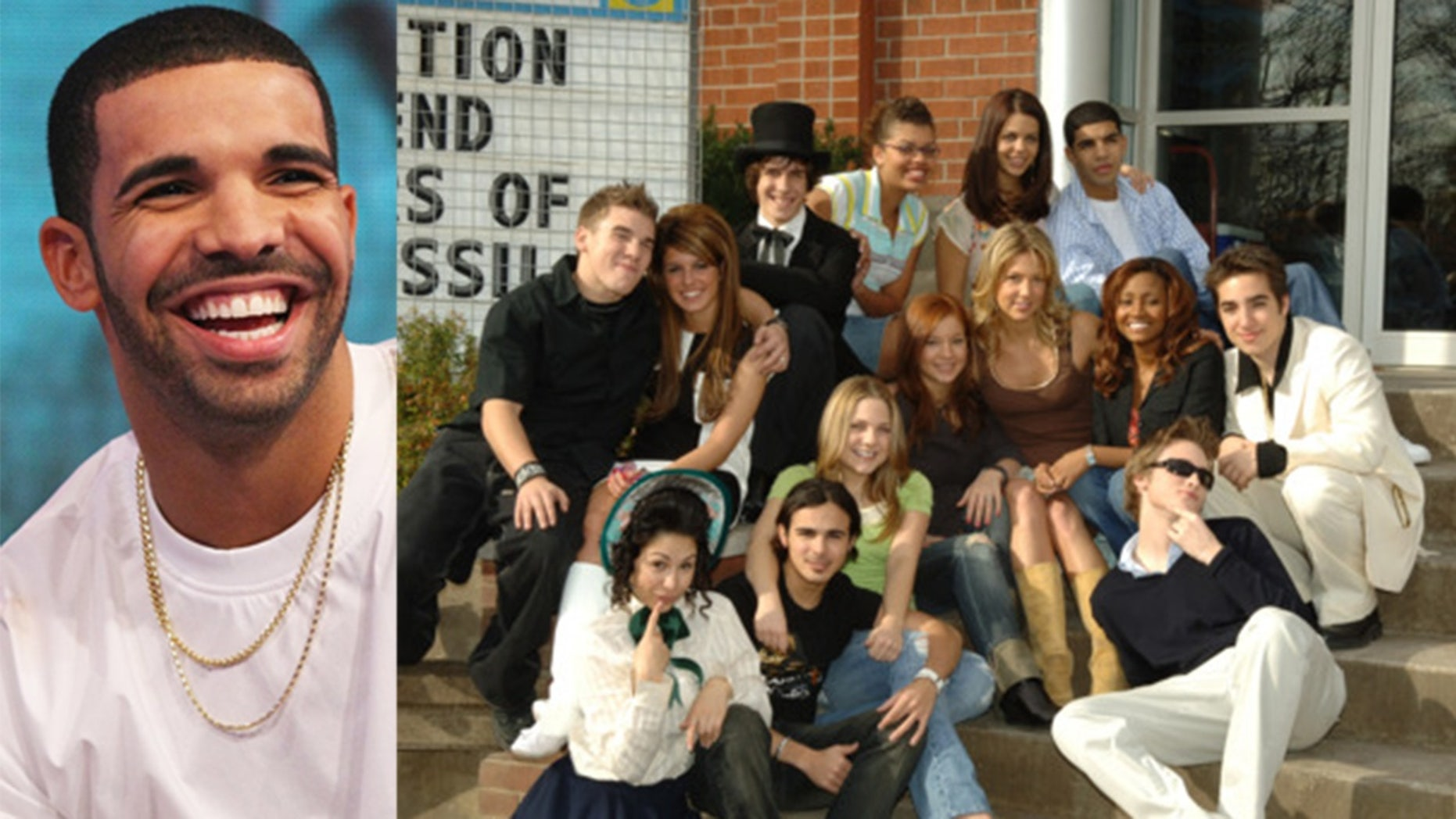"Drake reunited with his ""Degrassi"" castmates in his music video for his song ""I'm Upset."""