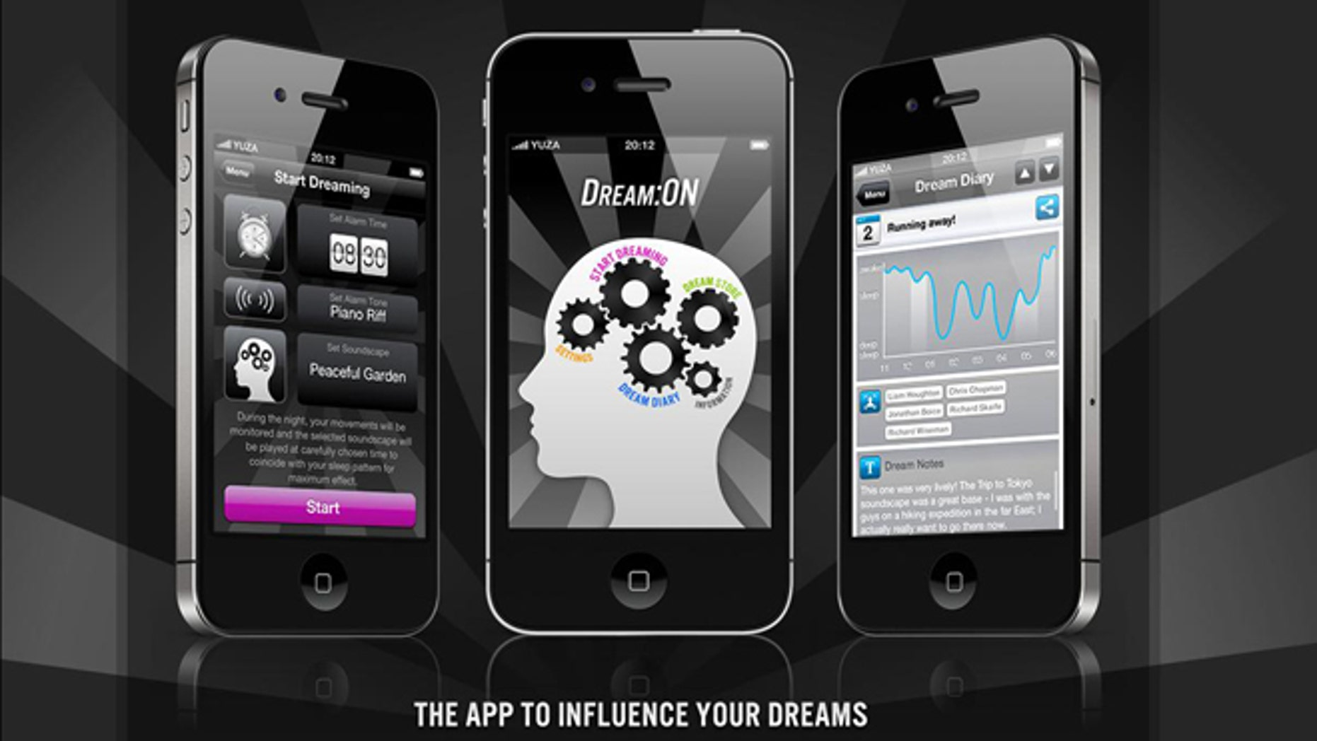 The website for Dream:ON explains how the sleep study app works.