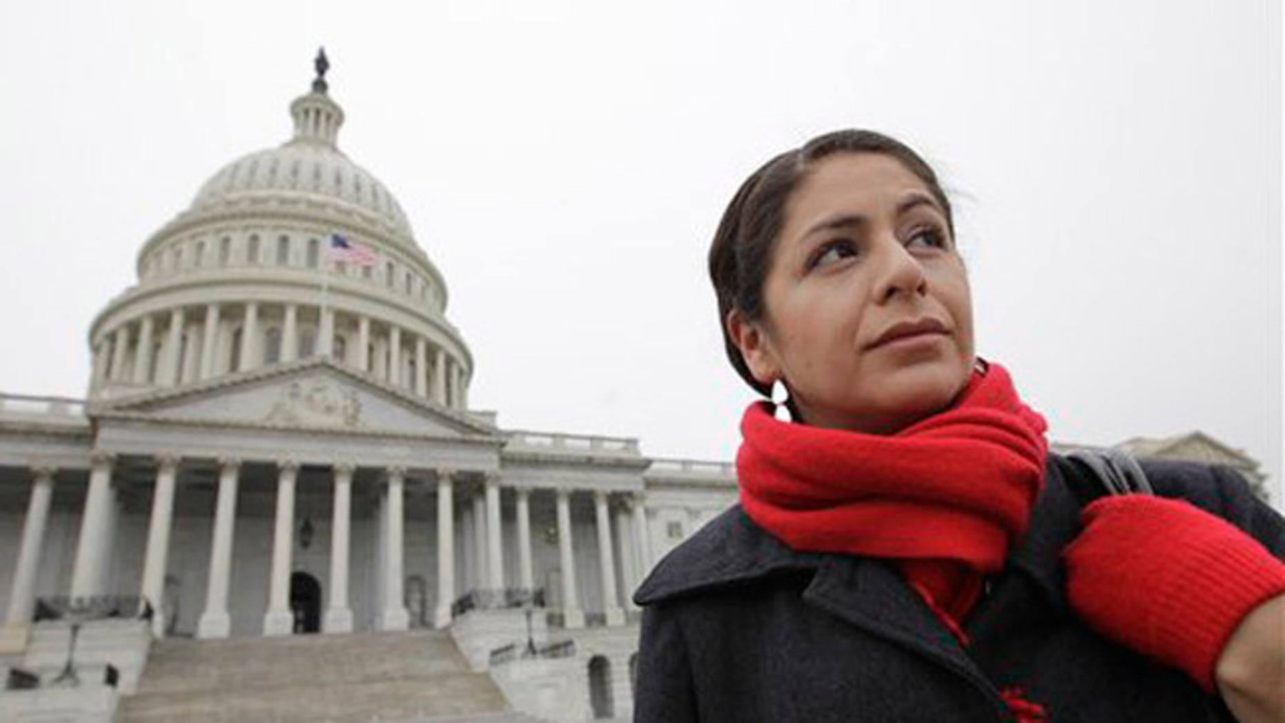 """Julieta Garibay i29, who has pushed for the DREAM Act since it was first introduced in Congress in 2001. """"Our allies will remember who voted, and how they voted, and will hold them accountable in 2012."""""""