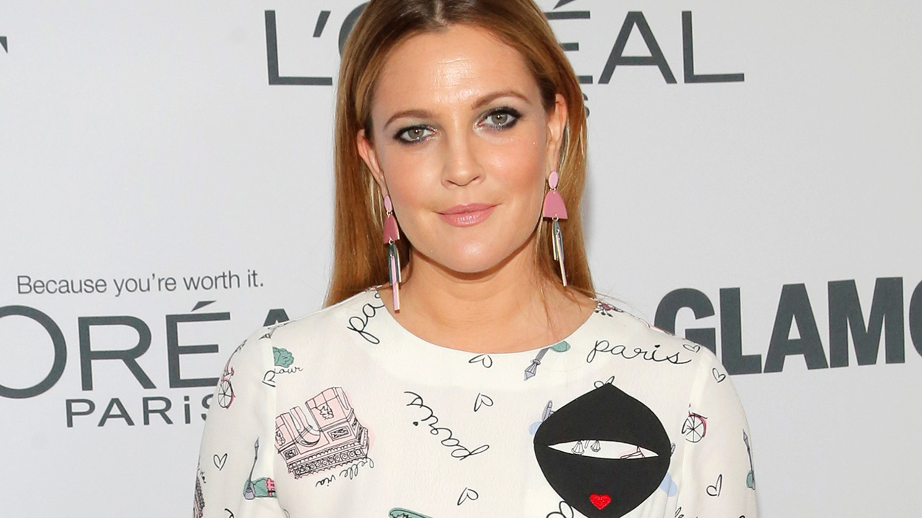 Drew Barrymore attends the 2017 Glamour Women of the Year Awards at the Kings Theater in Brooklyn, New York, U.S., November 13, 2017.