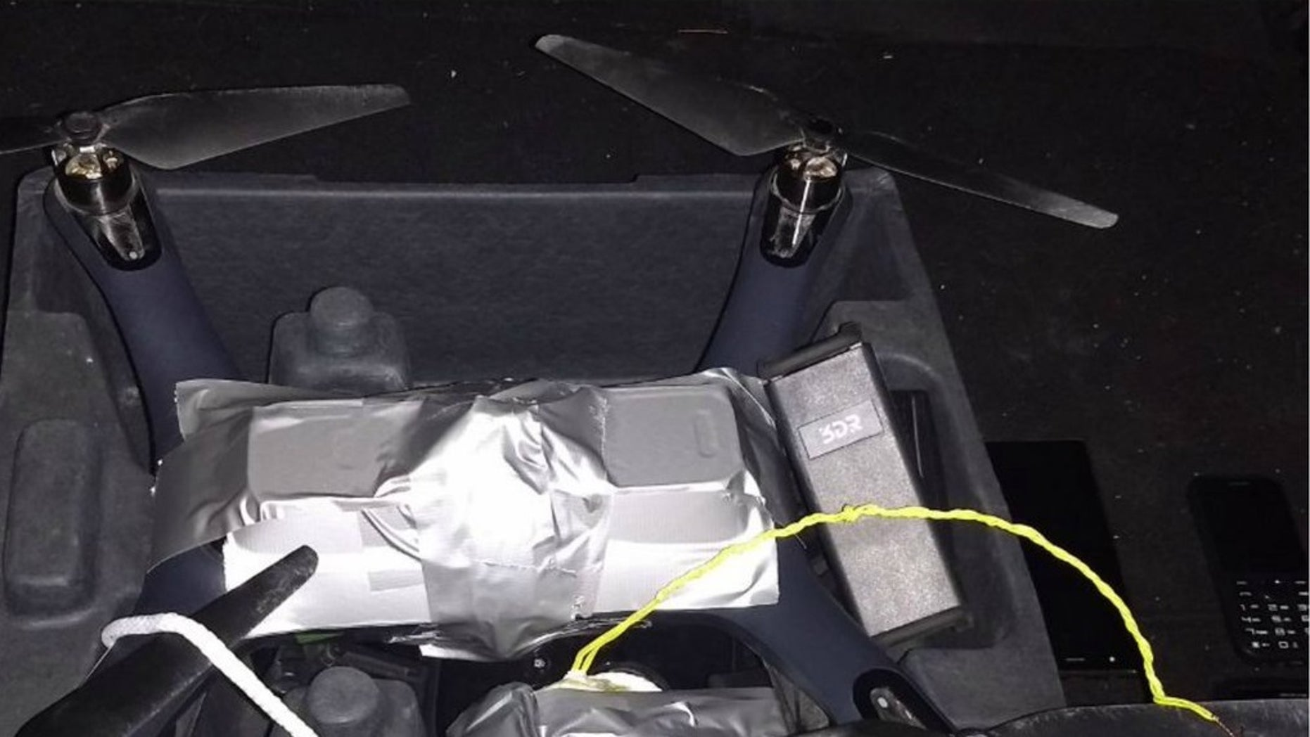 Mexico's Federal Police discovered an IED attached to a drone during a security check near Guanajuato.