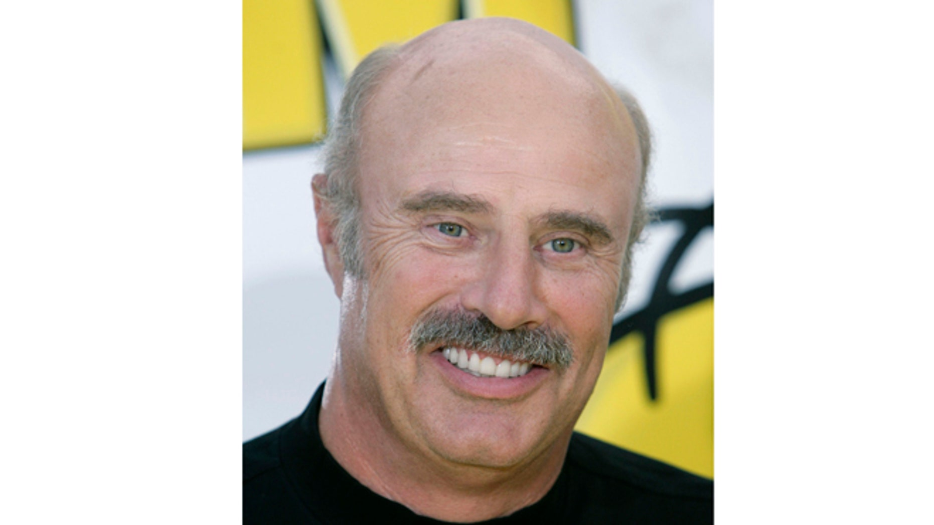 July 24, 2007: In this file photo, Dr. Phil McGraw is shown in Los Angeles.
