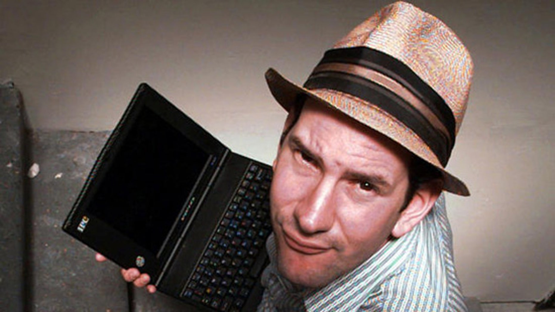 Matt Drudge is the founder of the popular online news site The Drudge Report, which has been charged by the Senate with spreading computer viruses. (AP)