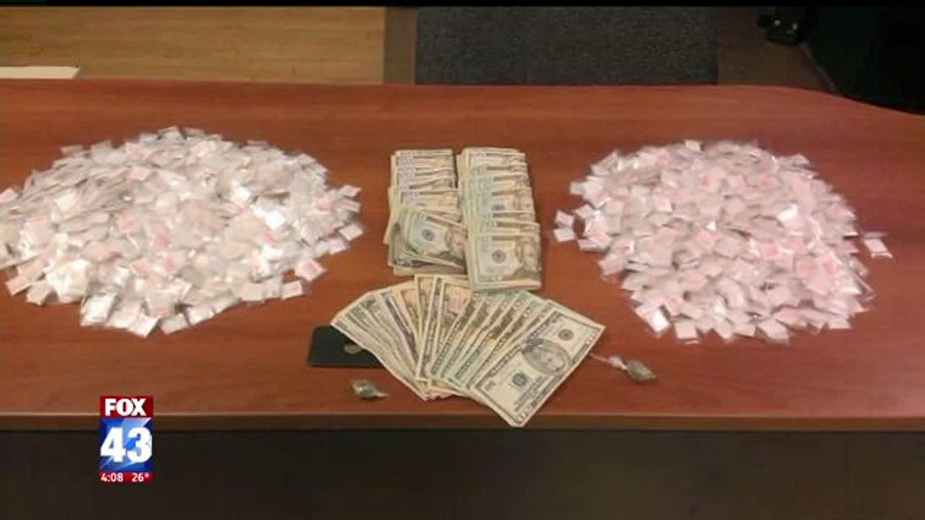 The Pennsylvania State Police today announced that troopers seized $13,755,803 worth of heroin, cocaine and other illegal drugs in the first three months of 2017.