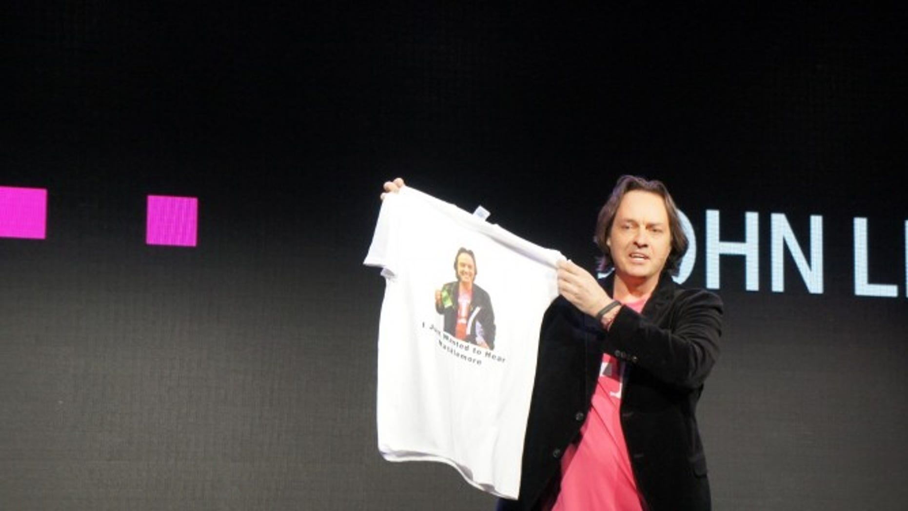 Jan. 8, 2013: Outspoken T-Mobile CEO John Legere speaks at  the 2014 Consumer Electronics Show.