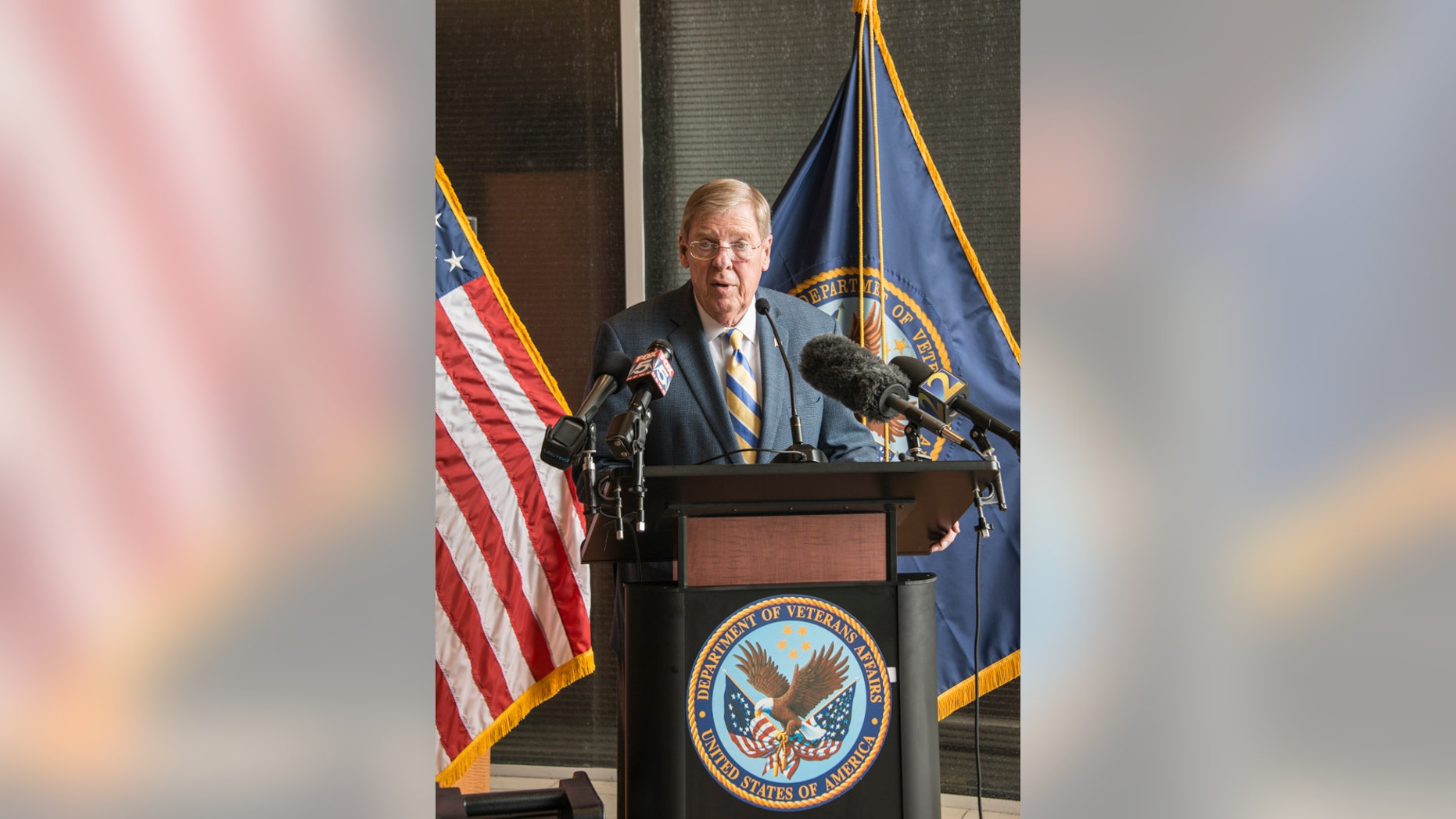 "Georgia Republican Sen. Johnny Isakson said anyone who disrespects the legacy of late Sen. John McCain ""deserves a whippin'."""