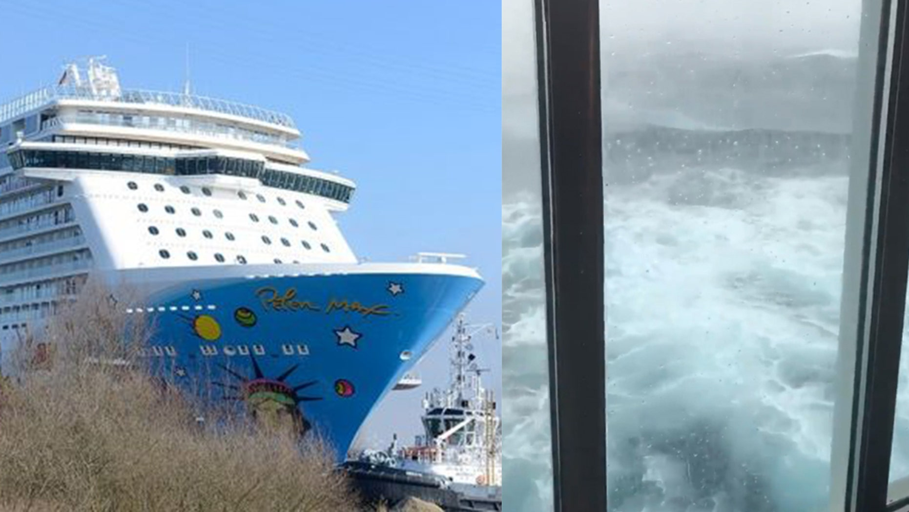 78a38fcce5a Norwegian Cruise Line passengers consider suing after ship sails through  winter storm