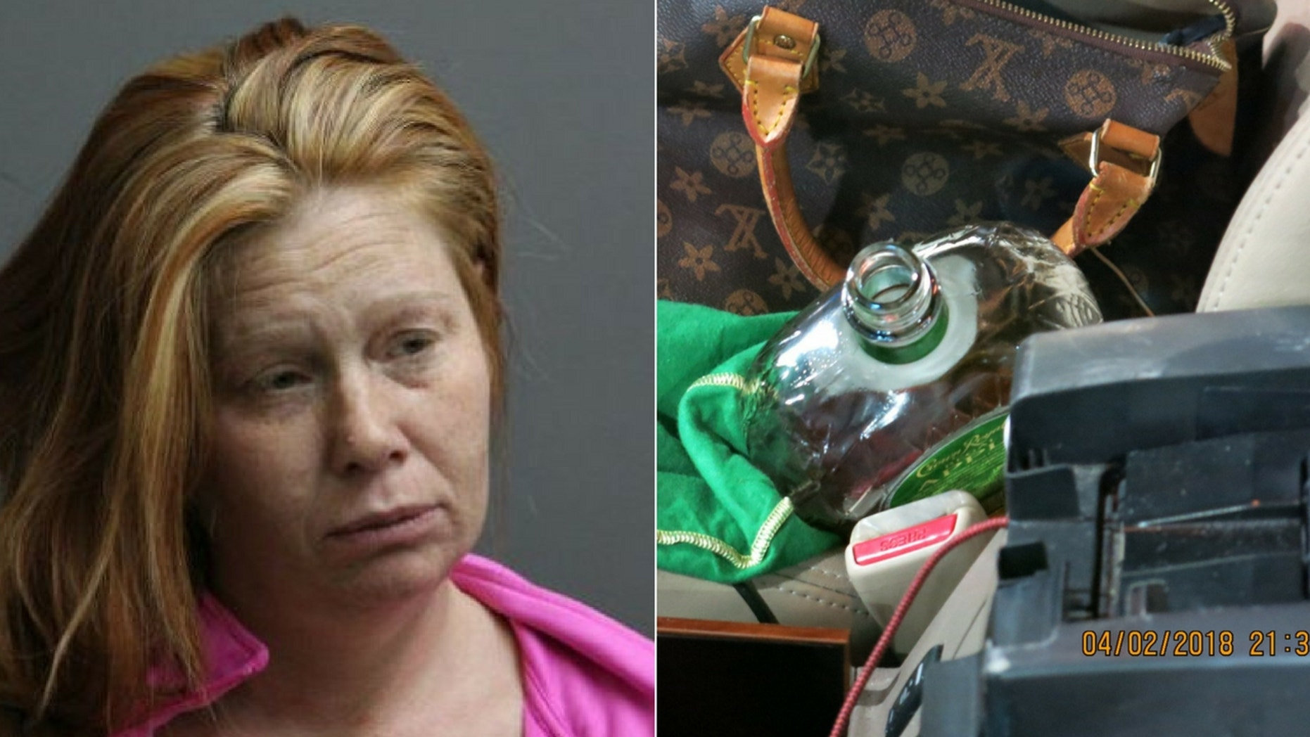 Tasha L. Schleicher, 41, was arrested in Illinois after police found her highly intoxicated.